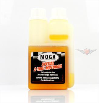 2 Takt Spezial Motoren Öl für Getrennt und Gemisch Schmierung 250ml Dosierer