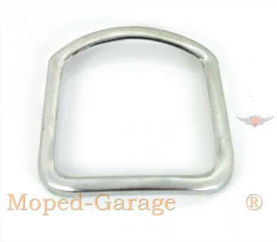 50er Moped Rechteck Tacho Chrom Ring