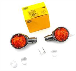 Zündapp GTS KS C 50 CS CX Moped Mokick Kontroll Lampe Leuchte Orange 6 Volt NEU