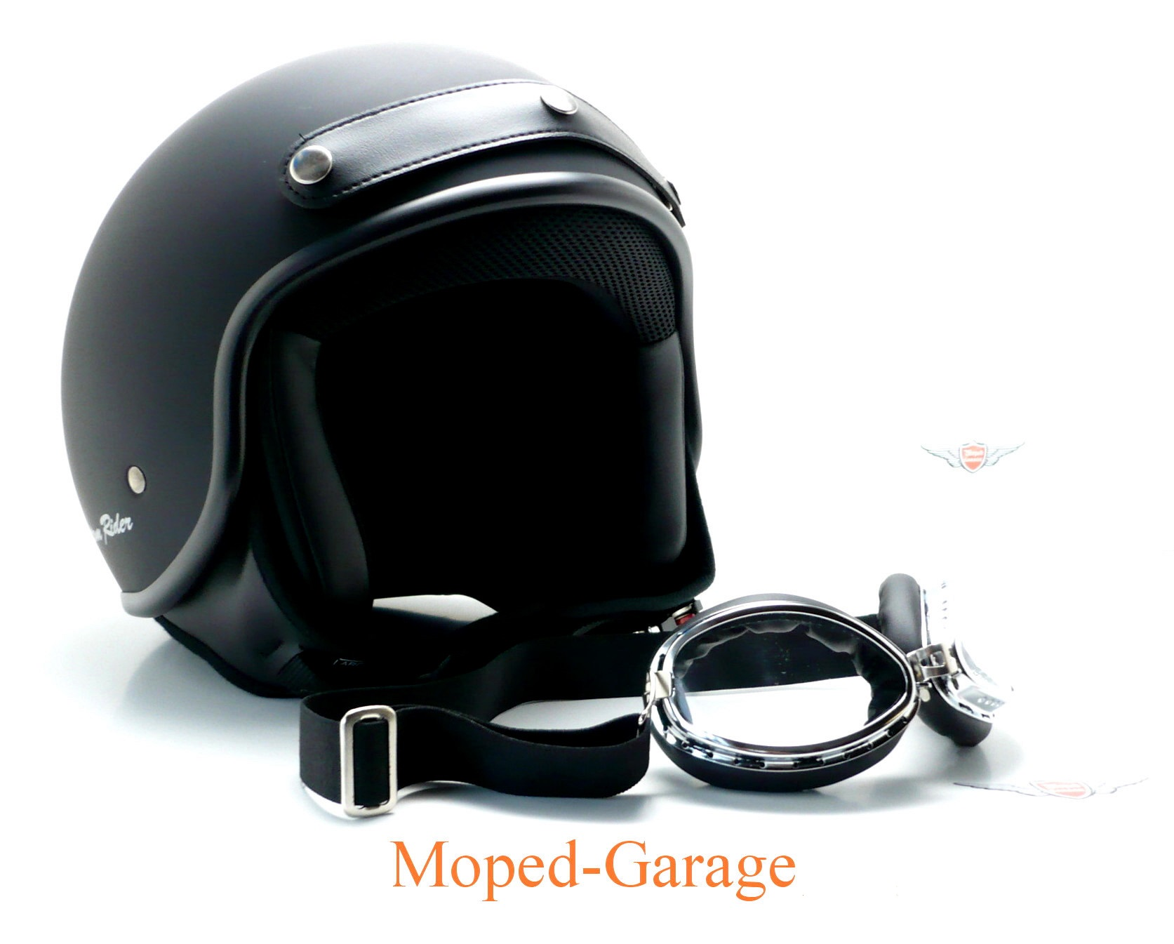 moped motorrad classic chopper jet helm. Black Bedroom Furniture Sets. Home Design Ideas