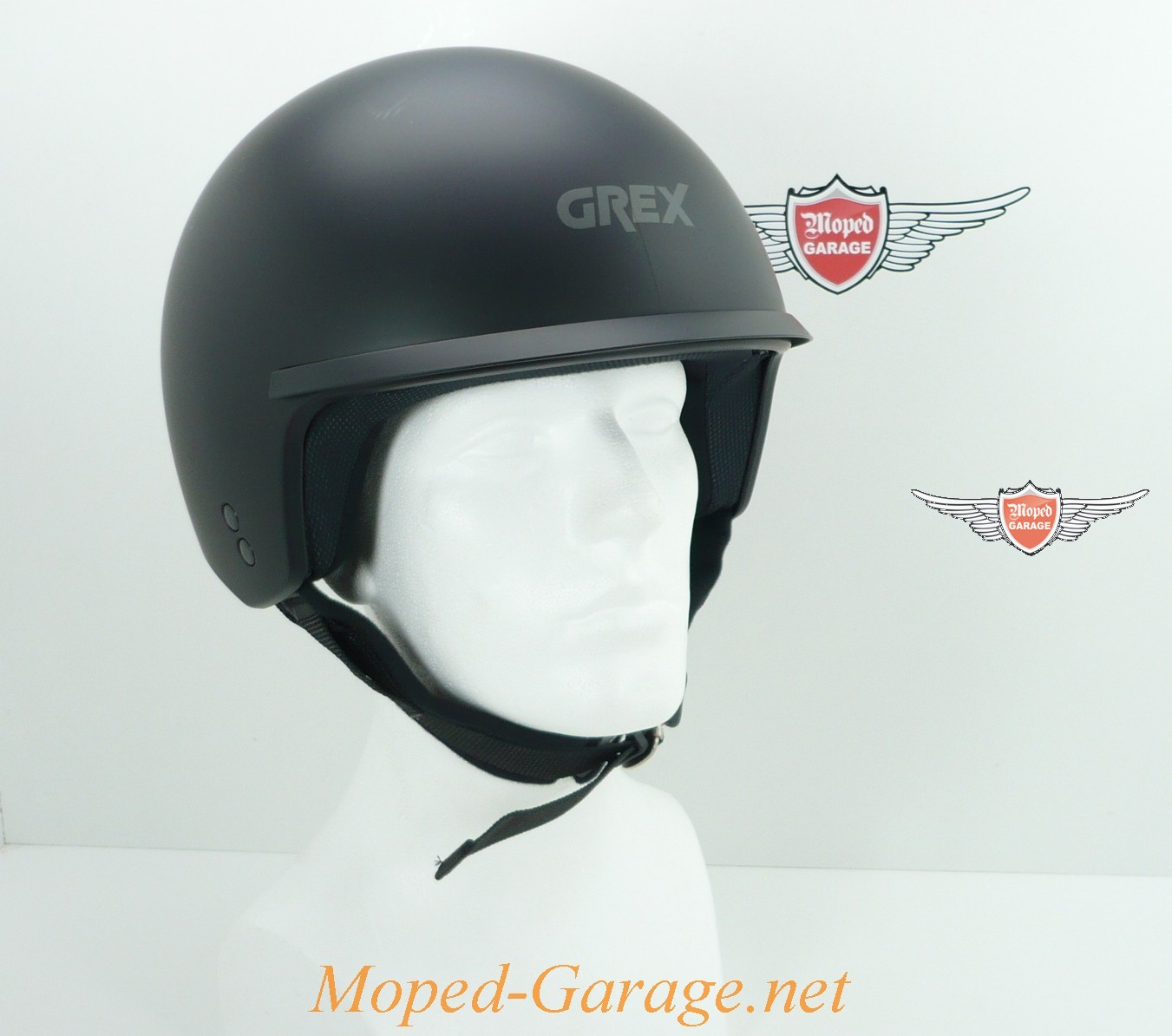 moped jet helm dj peak club grex schwarz matt. Black Bedroom Furniture Sets. Home Design Ideas