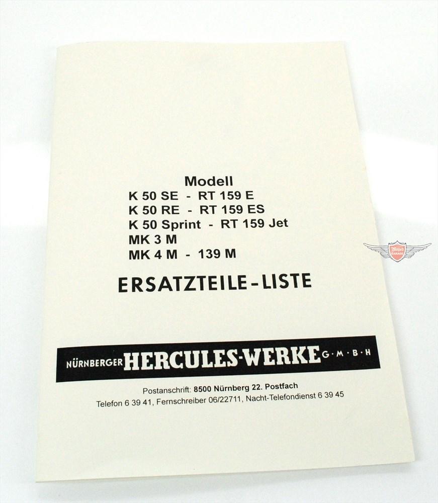Moped-Garage.net | DKW RT 159 139 M Mokick Ersatzteil Liste Teile ...