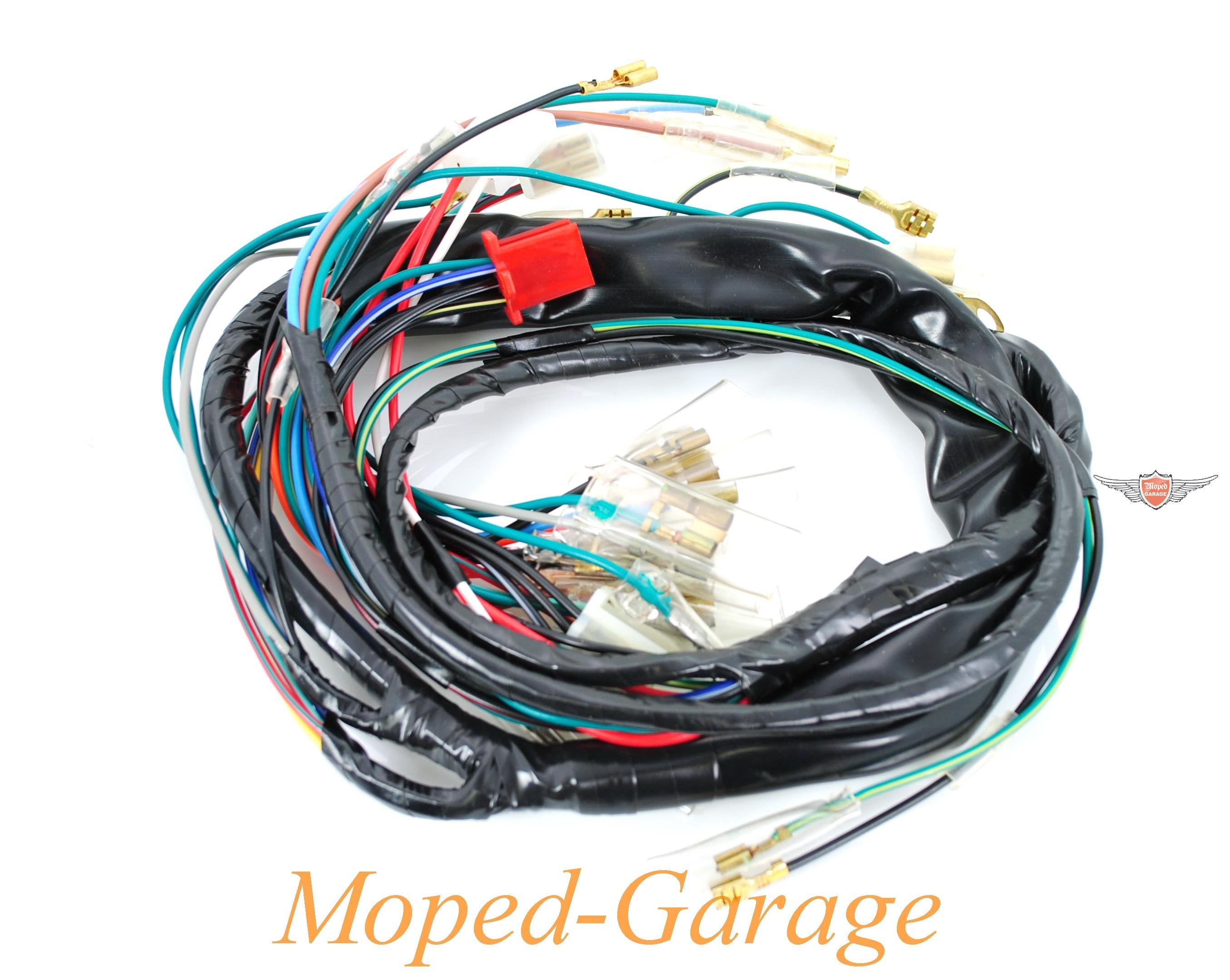 Moped-Garage.net | Honda MB MT MTX sh Kabelbaum | Moped Teile Kaufen