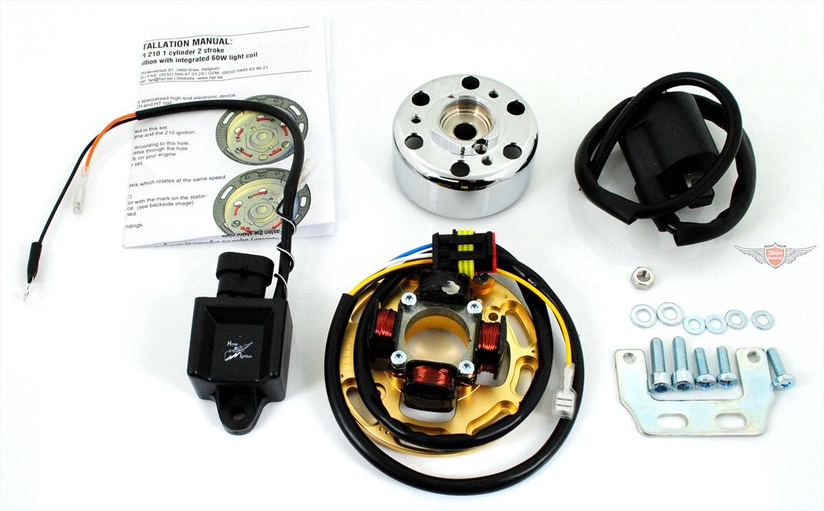 Tomos A 35 APN HPI Renn Zündung Mofa Moped Tuning