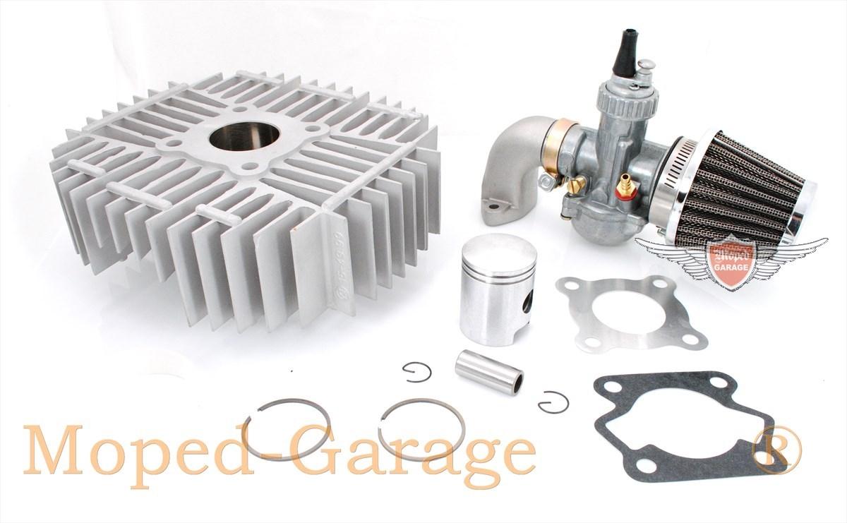 Kreidler Racing 44 mm Zylinder 12 PS Tuning komplett mit Kolben