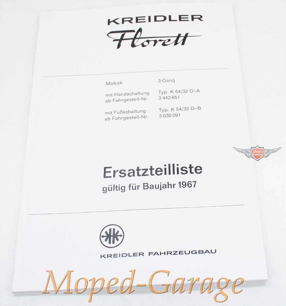moped kreidler florett lf lh k54 32. Black Bedroom Furniture Sets. Home Design Ideas