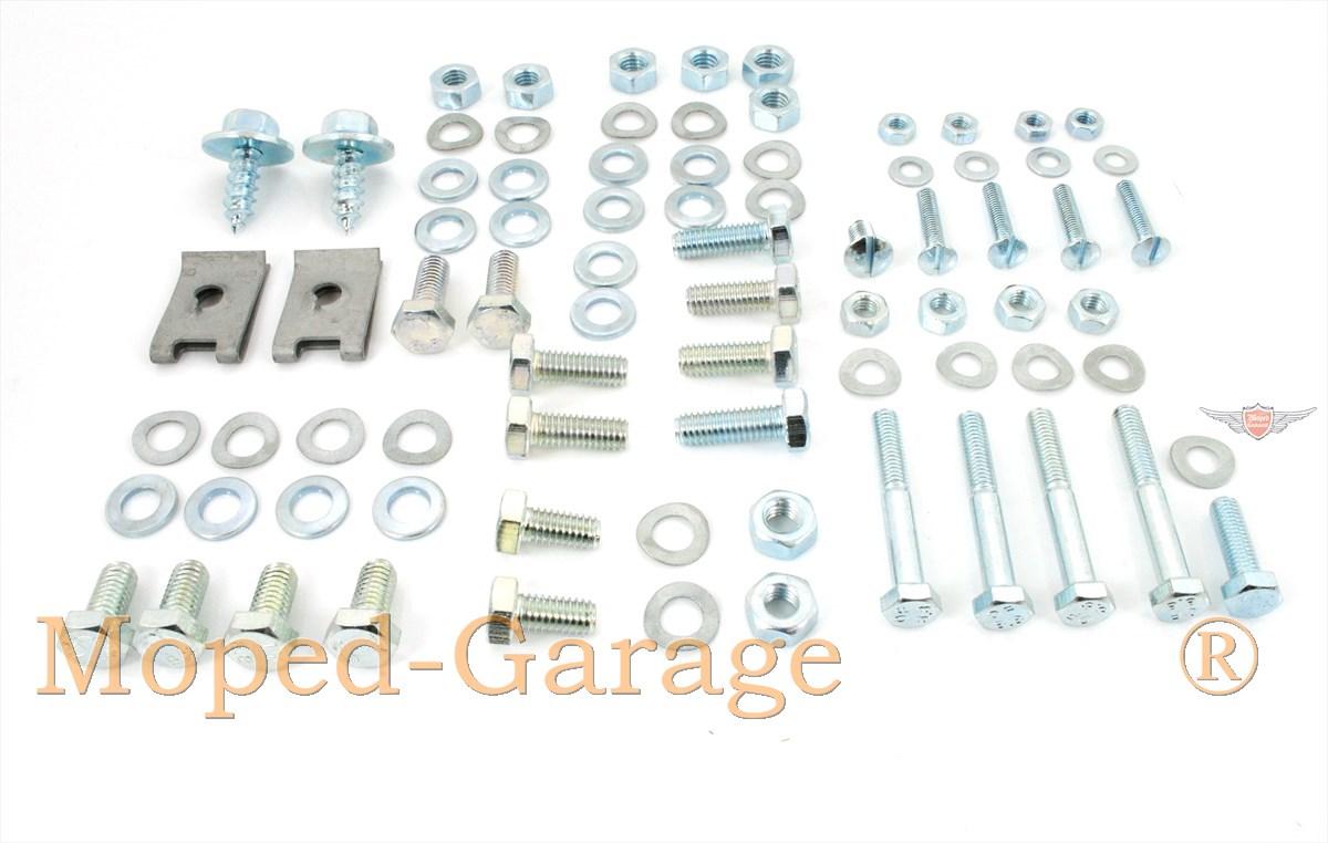 Moped-Garage.net | Kreidler Florett RS RMC LF LH Rahmen Schutzblech ...
