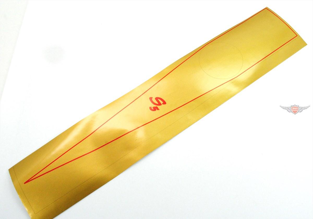 Logo Tankaufkleber Aufkleber Gold Kreidler Florett Eiertank