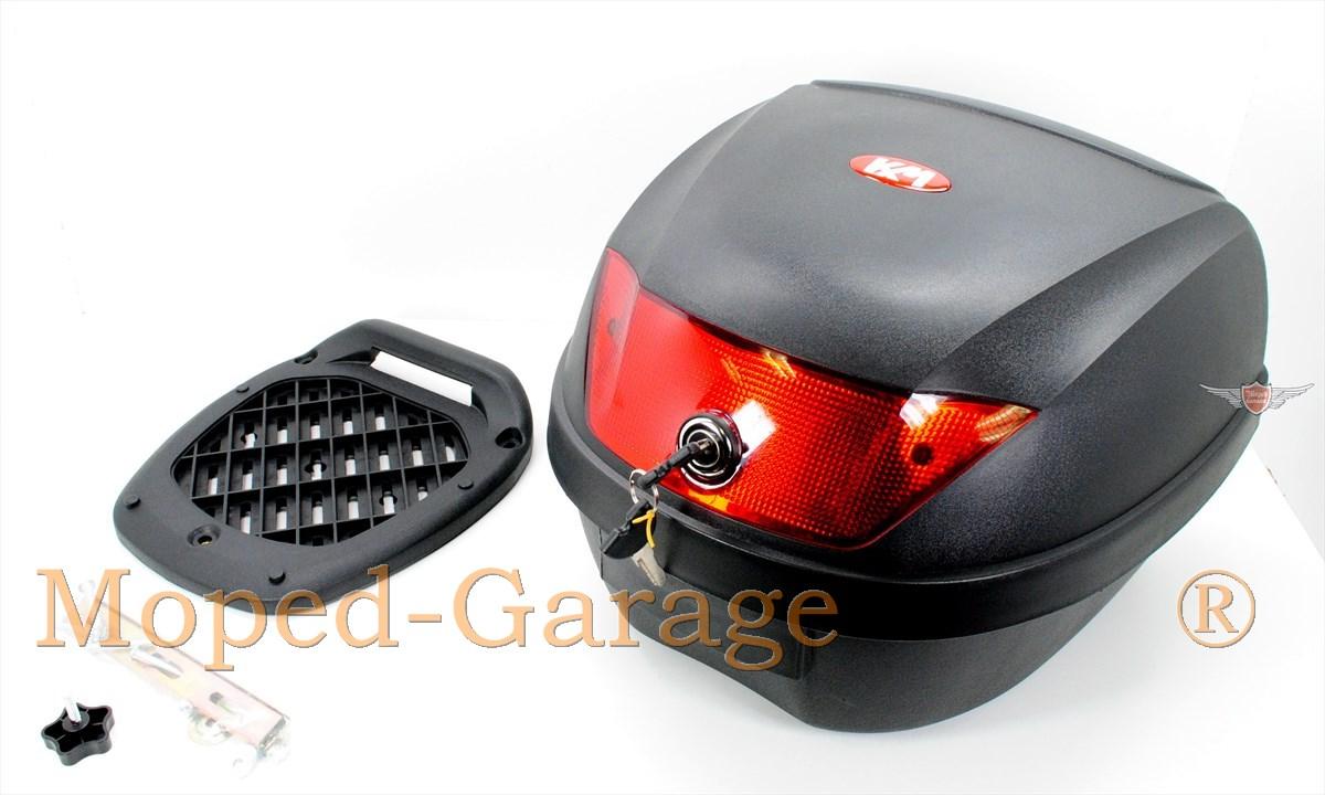 moped retro topcase gep cktr ger 28 liter koffer mofa moped mokick moped teile kaufen. Black Bedroom Furniture Sets. Home Design Ideas