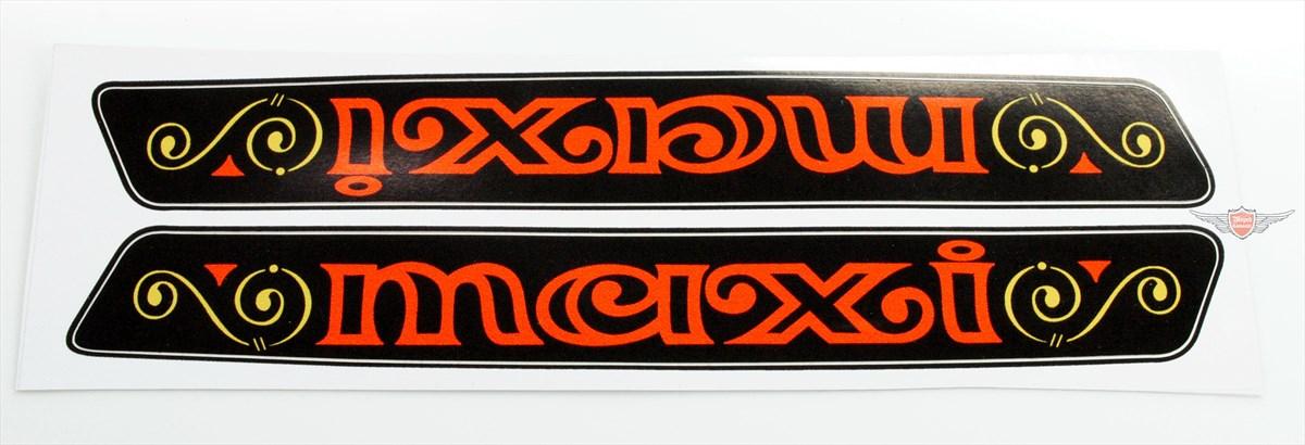 Moped-Garage.net | Puch Maxi N S Rahmen Tank Aufkleber Satz Chopper ...