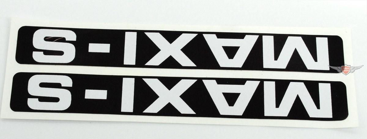 Puch Maxi S Aufkleber Verkleidung Schwarz Weiß