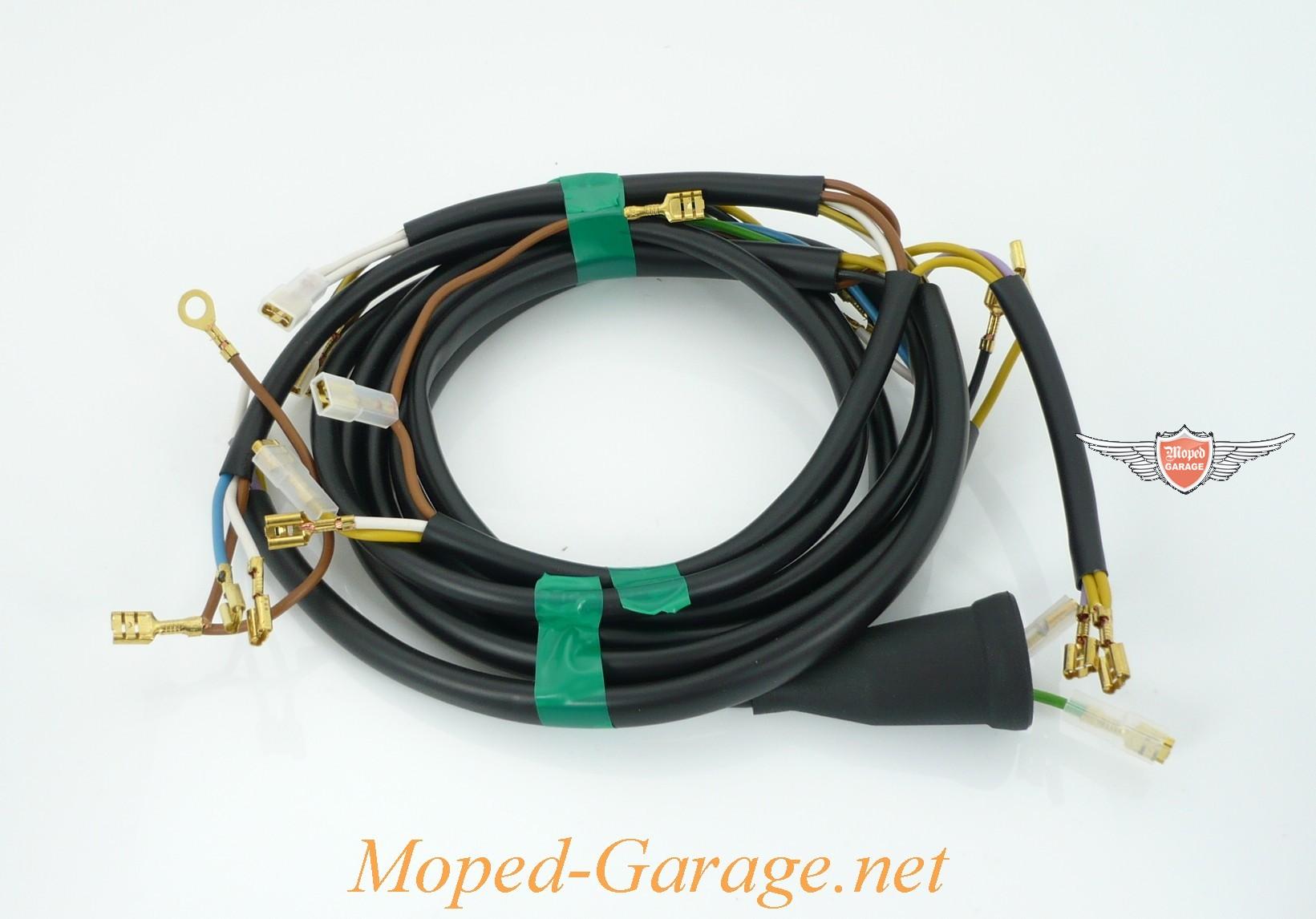 Moped-Garage.net | Puch Monza 4 S Kabelbaum | Moped Teile Kaufen