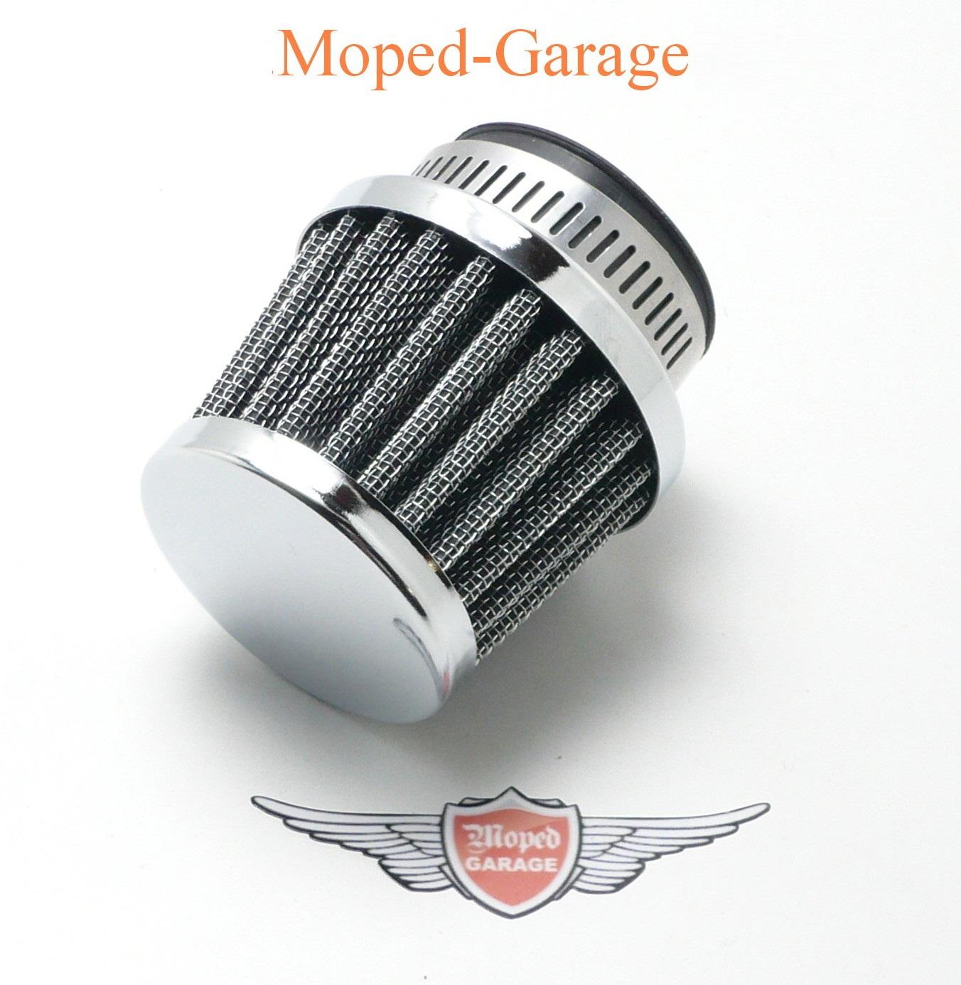 Sport Luftfilter 35mm Für Hercules Mofa Moped Mokick Roller Renn Neu