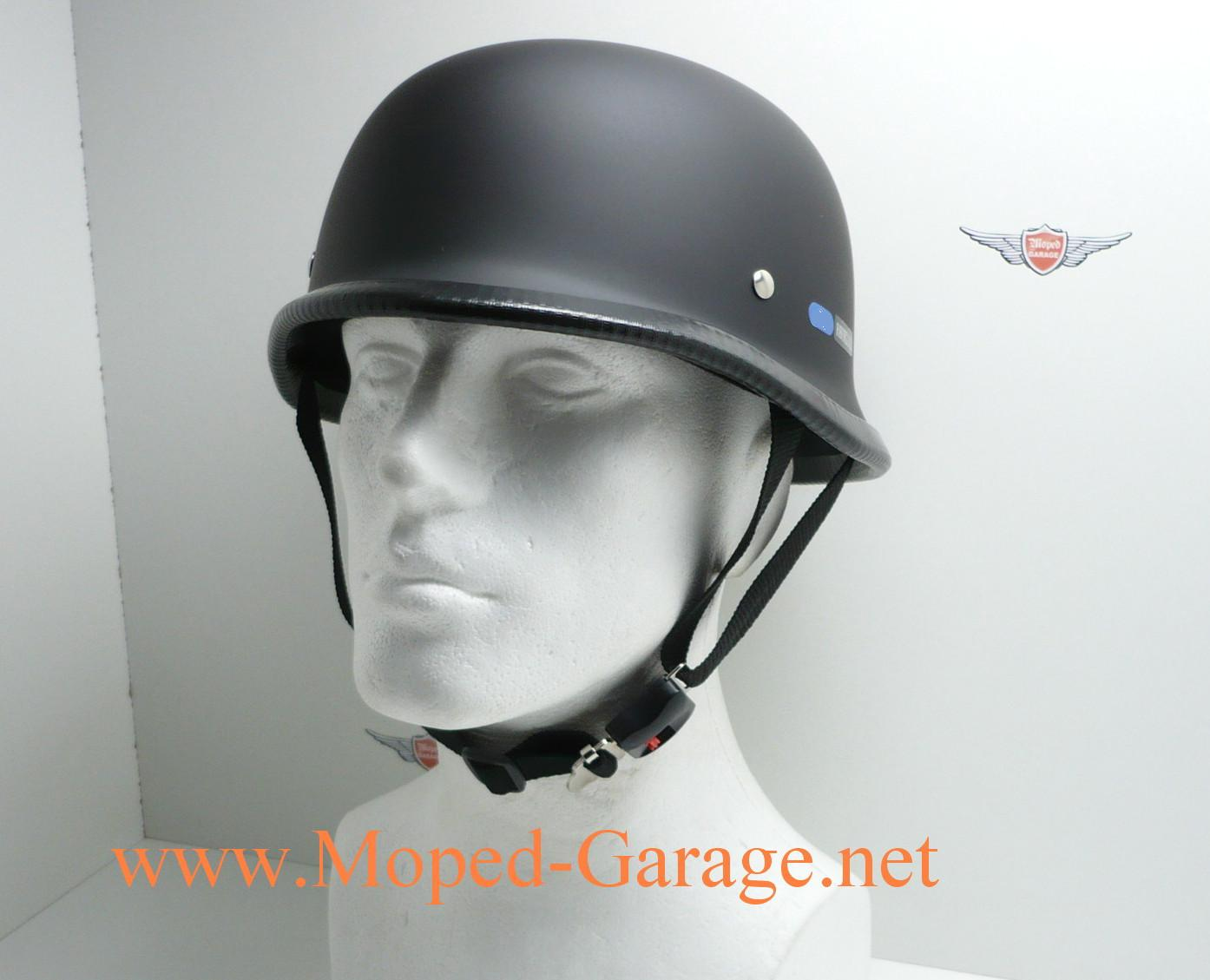 Moped Garage Net Motorrad Chopper Stahlhelm Halbschalen