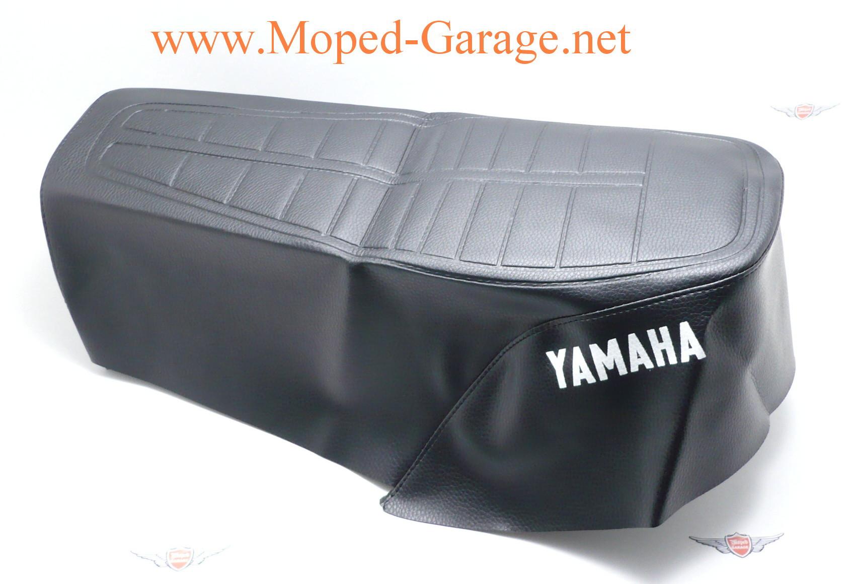 moped yamaha dt 50 mx sitzbank bezug schwarz. Black Bedroom Furniture Sets. Home Design Ideas