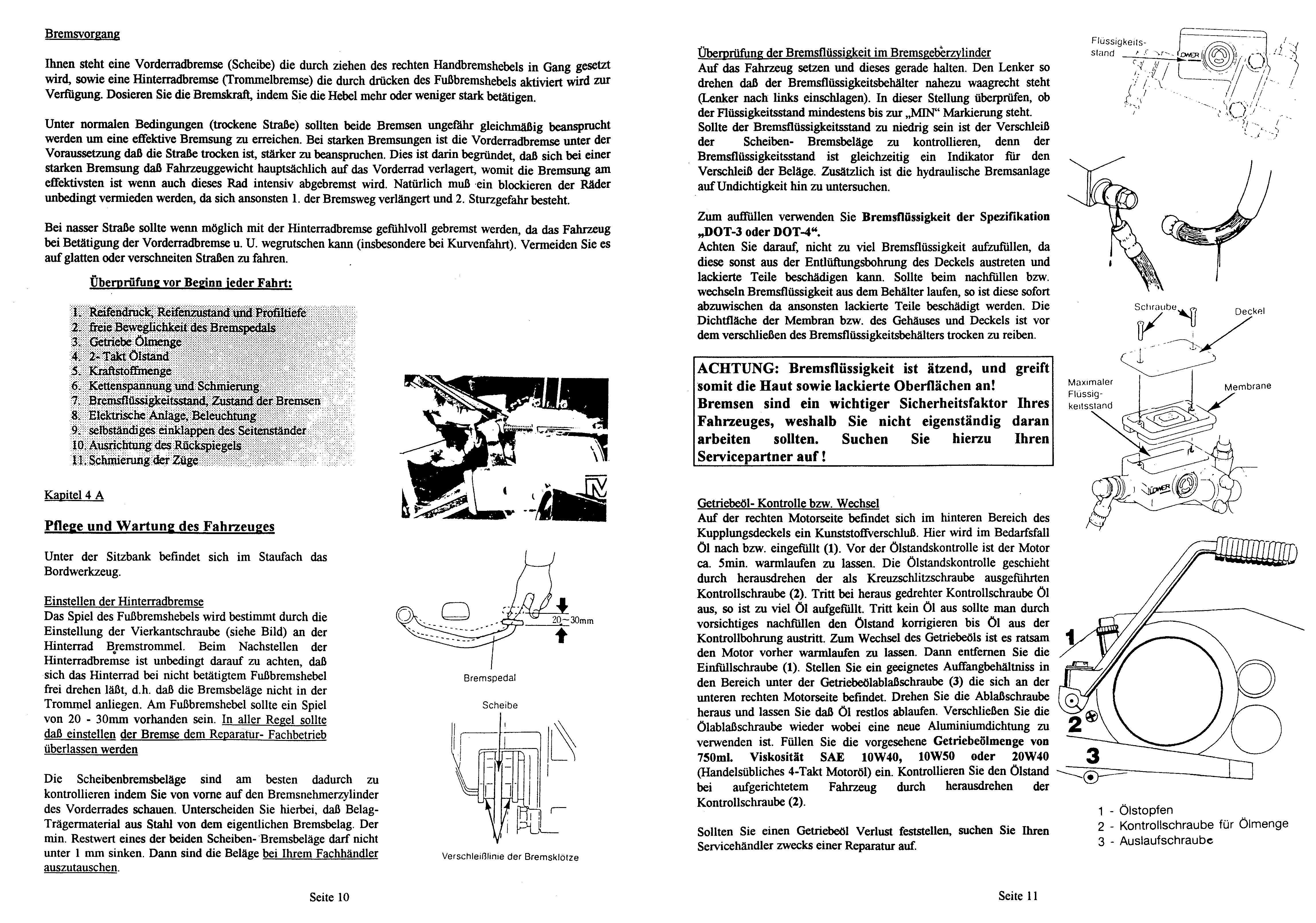 Macal Enduro Dakarino 50 Reparatur Anleitung Werkstatt Handbuch Daten Technik