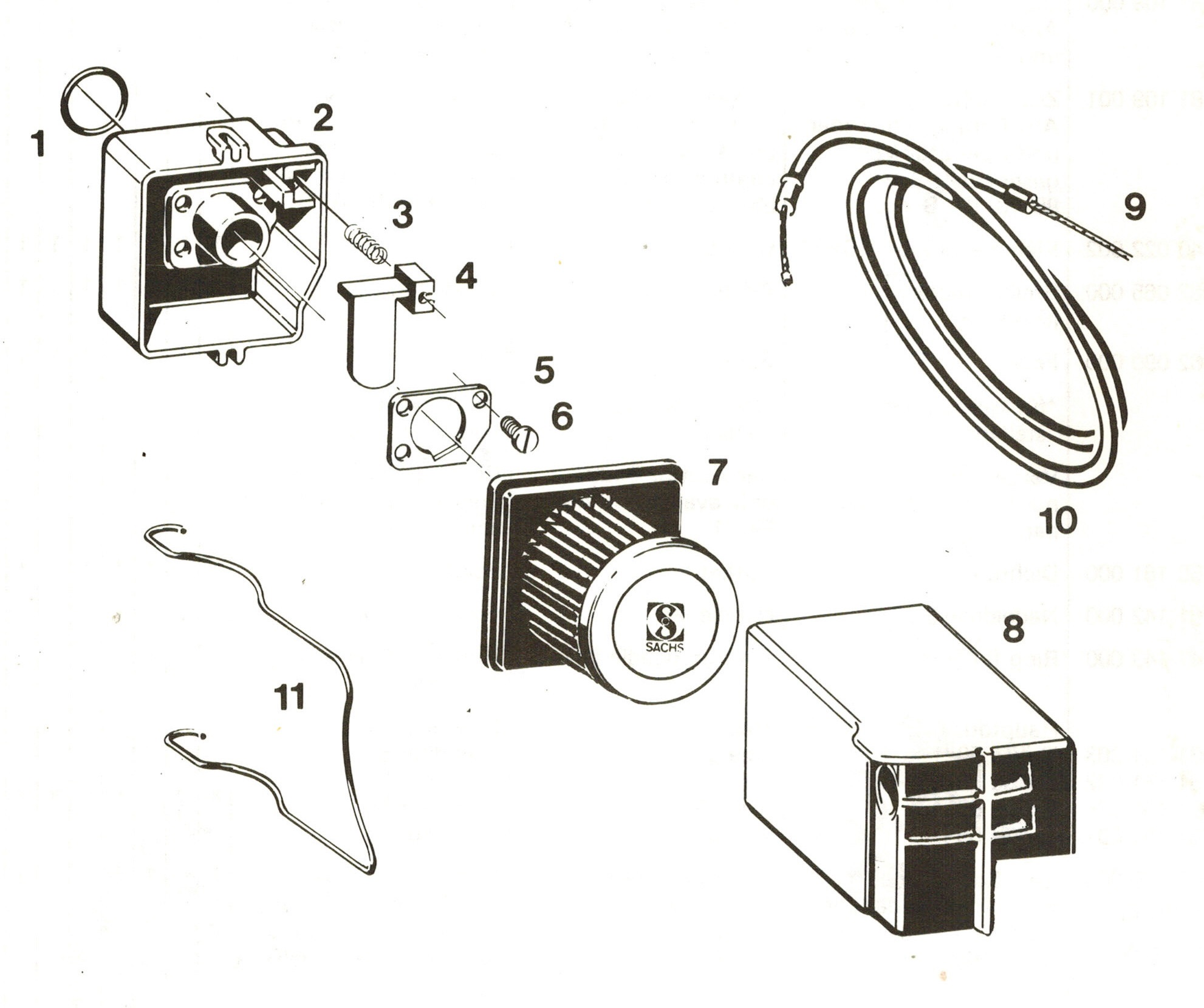 moped hercules prima m sachs 504 505 vergaser. Black Bedroom Furniture Sets. Home Design Ideas