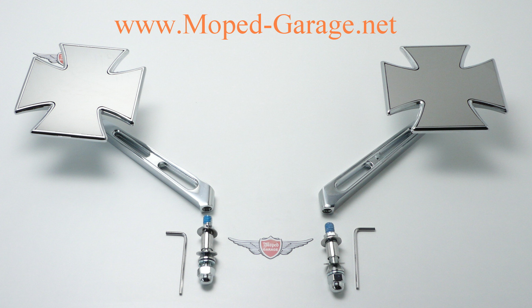 Harley Davidson Iron Spiegel
