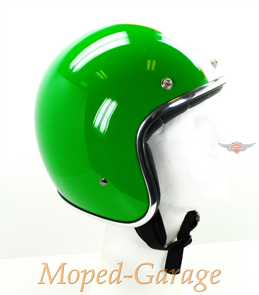 moped retro jet helm race star italien flagge. Black Bedroom Furniture Sets. Home Design Ideas