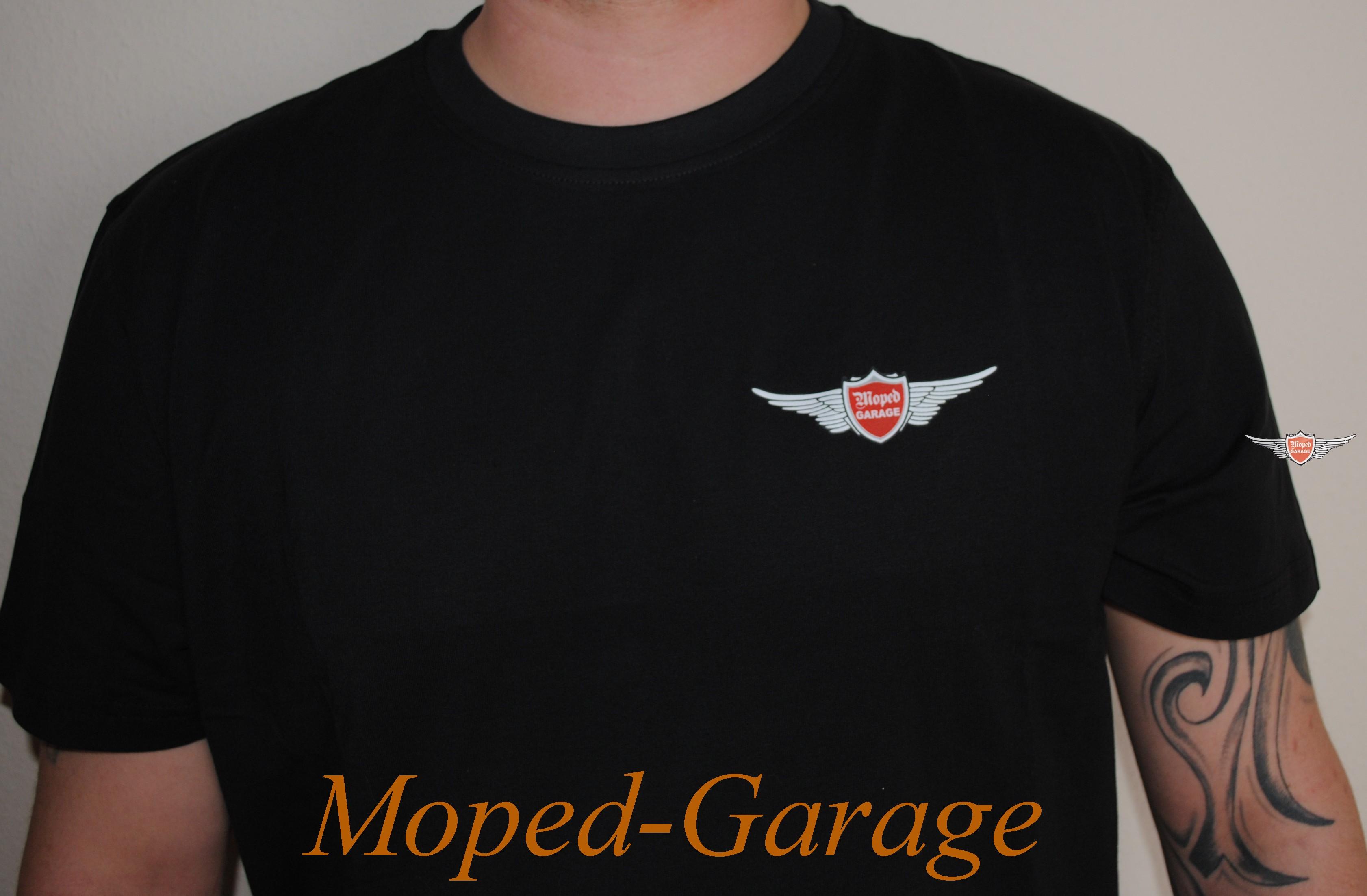 Garage T Shirts : Moped garage moped garage t shirt original es moped teile