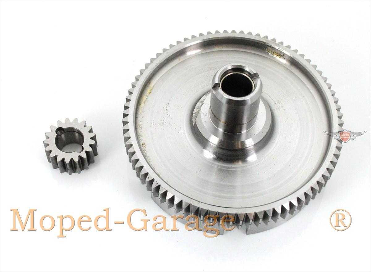Zündapp Kupplungskorb mit Ritzel 283-05.900 Kupplung CS HAI 50 Typ 448