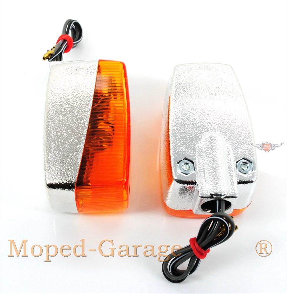 moped kreidler florett chrom blinker satz moped teile kaufen. Black Bedroom Furniture Sets. Home Design Ideas