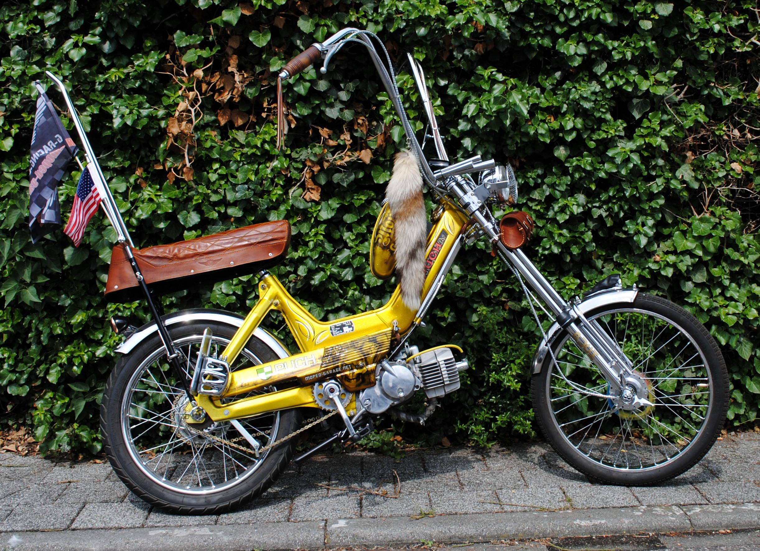 moped puch maxi s n x 30 schwarze chopper. Black Bedroom Furniture Sets. Home Design Ideas
